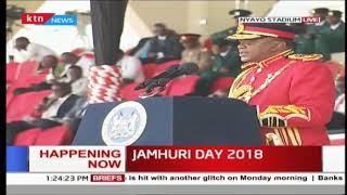 President Uhuru Kenyatta's 55th Jamhuri Day speech