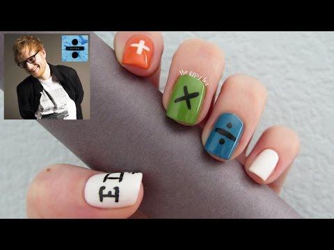 Ed Sheeran Nail Art Design | TheGypsyBox