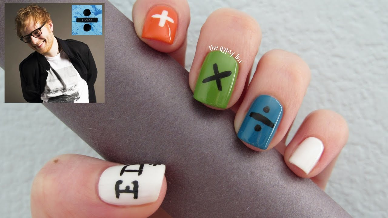 Ed Sheeran Nails | Best Nail Designs 2018