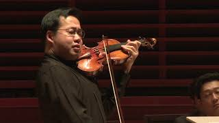 Violinist Ning Feng   Zhao Jiping Violin Concerto No. 1   2017 US Premiere