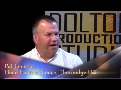 'Take Another Look' - Pat Jennings, the Head Football Coach for the Thornridge High School Falcons.