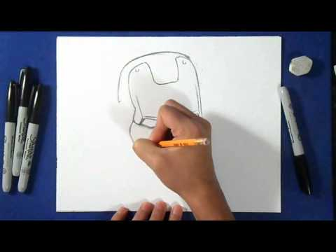 Как нарисовать железного дровосека