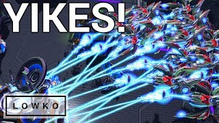 StarCraft 2: Disgusting Protoss Cheese!