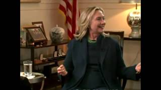 We came, we saw, he died - Hillary Clinton on Gaddafi Just like that!