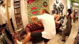super awesome dancing tommy franklin byron bay mov