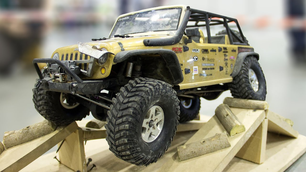 best of rc cars demo hobbytime 2016 video 4 of 4 rc off road jeep wrangler rubicon youtube. Black Bedroom Furniture Sets. Home Design Ideas