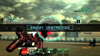 Armored Core V - Universe Vs (EXPENDABLES) Conquest game 2