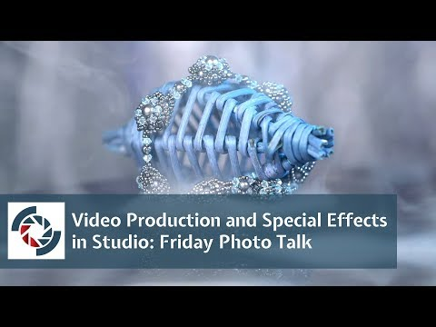 Video Production and Special Effects in Studio: Friday Photo Talk