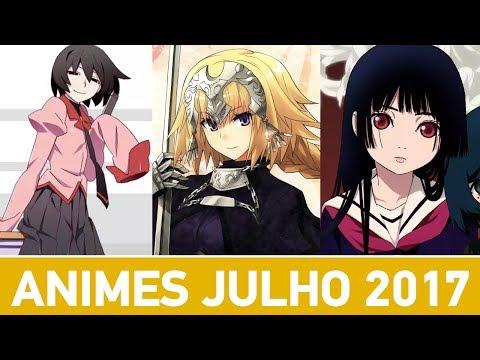 NOVOS ANIMES DE JULHO/VERÃO 2017 | Guia da Temporada