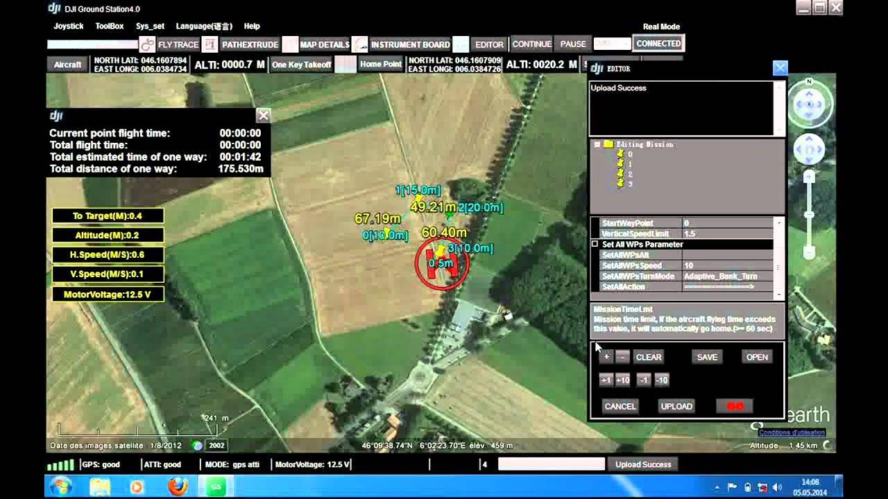 On a essayé pour vous : La DJI Ground Station PC - YouTube