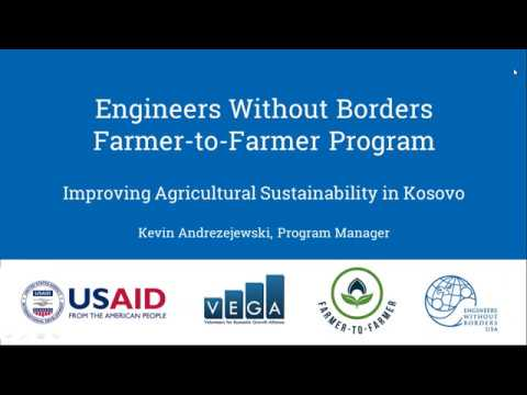 Farmer-to-Farmer Seminar — Engineers Without Borders in Kosovo