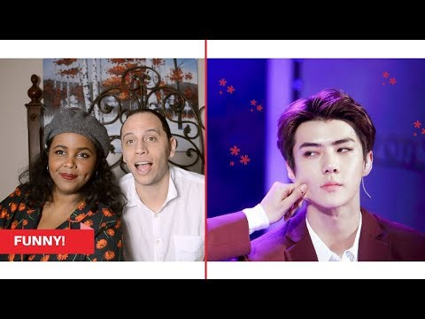 EXO TRY NOT TO LAUGH (HARDEST VERSION) REACTION (EXO REACTION)