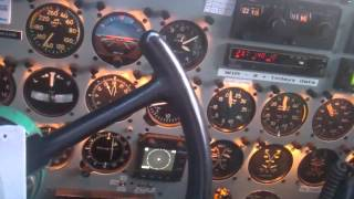 Flying DC-3  C-GWIR on the