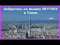Как мы забрались на вышку Skytree в Токио(≧◡≦) Достопримечательности Японии