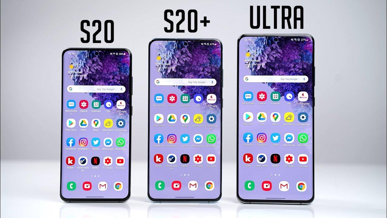 Samsung Galaxy S20 vs. S20+ vs. S20 Ultra - Die wichtigsten Unterschiede & Kaufberatung   SwagTab