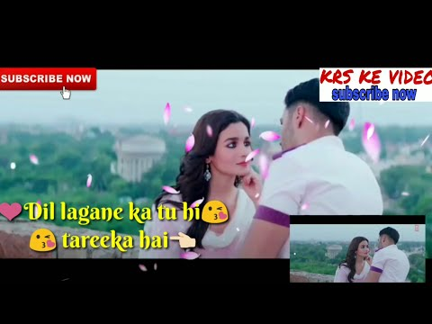 humsafar-|-badrinath-ki-dulhania-|-official-song-|-romantic-whatsapp-status-video-|-lyrics-video-new