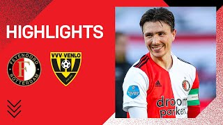 SIX goals on a SATURDAY 🤩 | Highlights Feyenoord - VVV-Venlo | Eredivisie 2020-2021