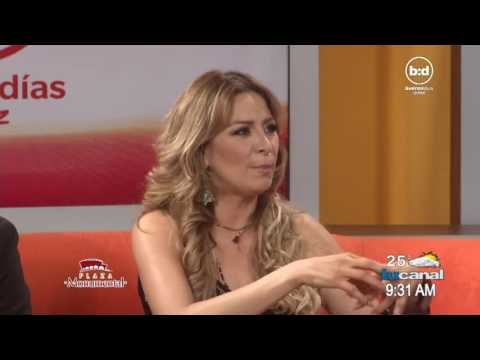 Crsitina Eustace habla de Esteban Loaiza - ESPECTACULOS - BUENOS DIAS JUAREZ