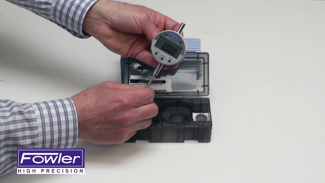 AA3410-1 FOWLER54-520-000 INCH//METRI DIGITAL INDICATOR