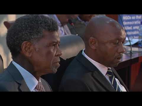 Deputy President Cyril Ramaphosa attends post-elections National Dialogue in Maseru