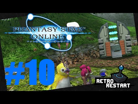 Phantasy Star Online - Plant Magic - Let's Play Dreamcast! Part 10