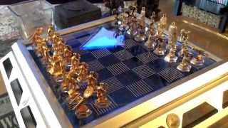 Star Trek 25th anniversary collectors chess set from the Franklin Mint