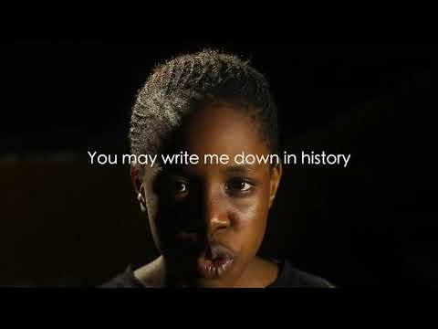 """BEMORE Girls Perform """"Still I Rise"""" By Maya Angelou To Campaign Against Rape"""
