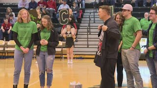 Perfect Match: Indiana basketball coach receives lifesaving surprise