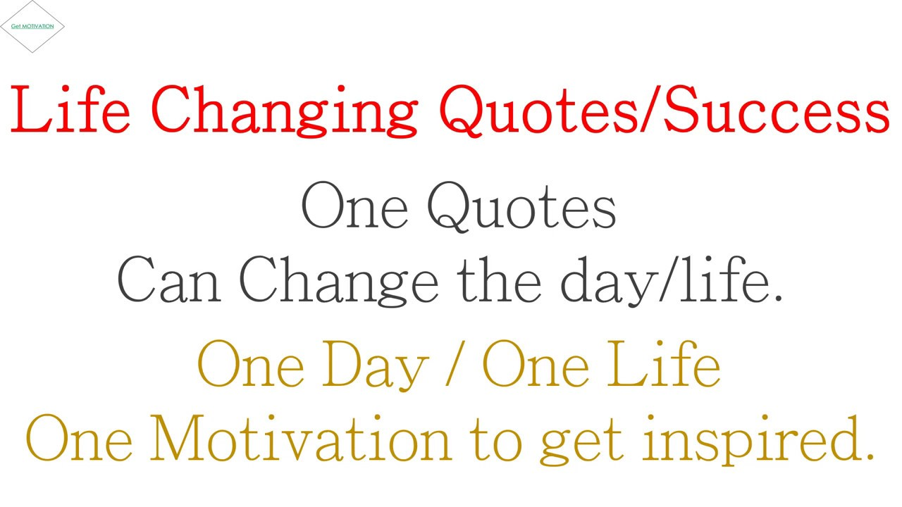 Quotes For A Successful Life Life Changing Daily Quotes  Successful  Jamie Paolinetti   Youtube