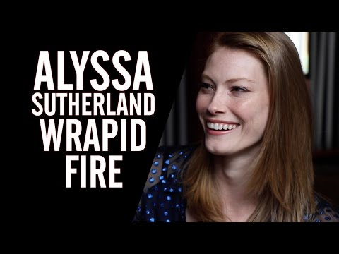 Wrapid Fire: 'Vikings' Star Alyssa Sutherland Names Her Hottest CoStar