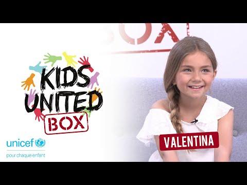 KIDS UNITED BOX  #VALENTINA