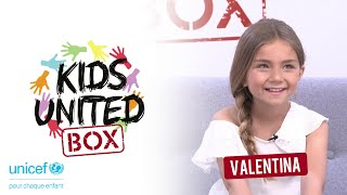 KIDS UNITED BOX  #VALENTINA