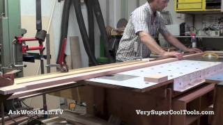 48 How To Build A Bed • Cutting Headboard Slats To Length