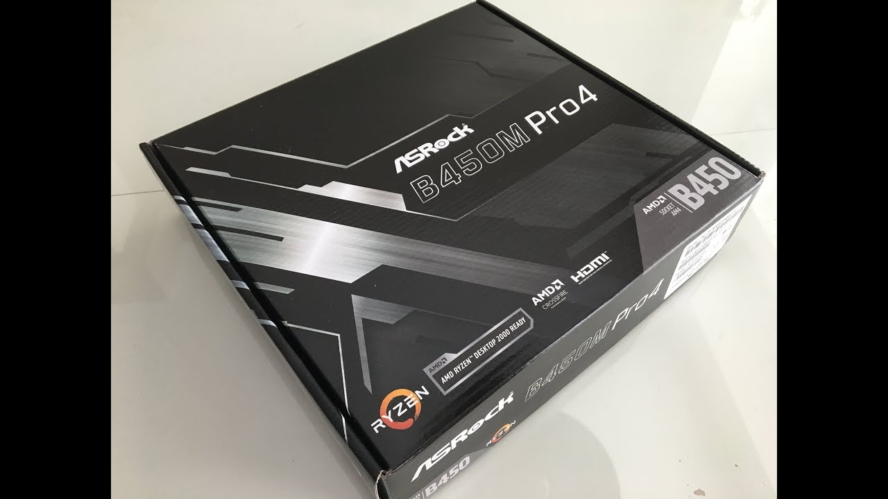 ✅ASRock B450M Pro4 Micro ATX Motherboard Review