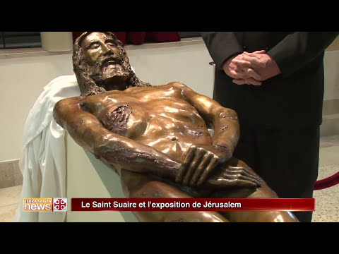 Bronze Jesus Cast from 3D Shroud Image