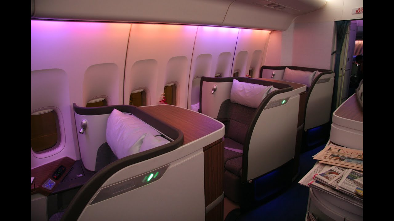 Top 10 best first classes on airlines 2016 youtube for Interieur 777