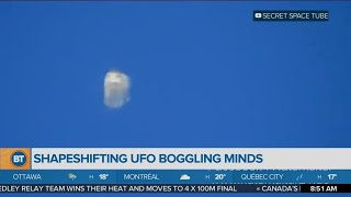 Shapeshifting UFO