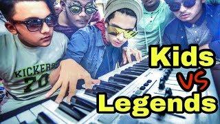 The Ajaira LTD - Kids vs Legends   Prottoy Heron   Rayhan Khan