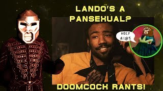 Doomcock Rages at the SJW News: LANDO CONFIRMED AS PANSEXUAL!