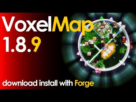 VOXELMAP 1.8.9 minecraft - how to download and install voxelmap 1.8.9 [minimap] (with forge)