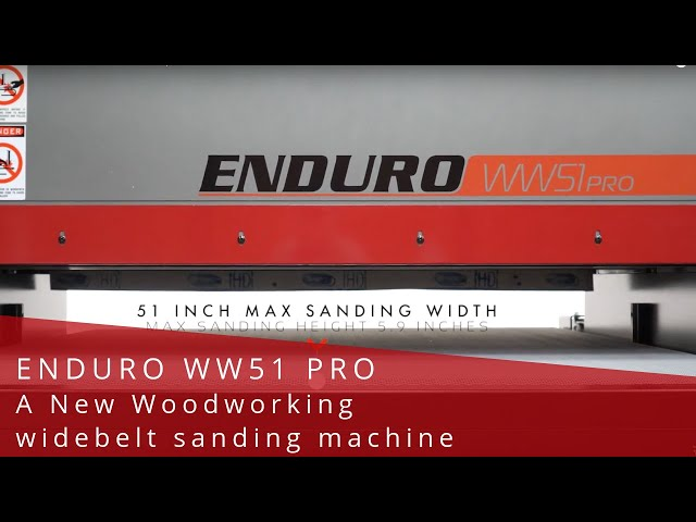 Introducing Wide-belt Sanders from LAGUNA   A New Level of Production Perfection   Laguna Tools