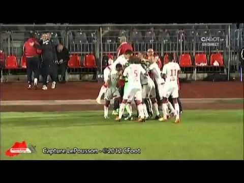 Le gardien de Monaco Danijel Subasic marque un but