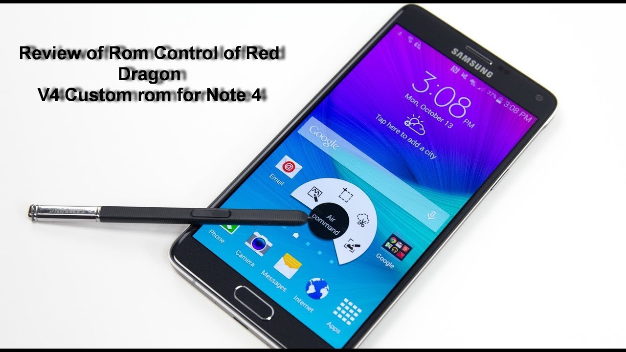 Red Dragon Stable and Awesome Rom for Galaxy Note 4