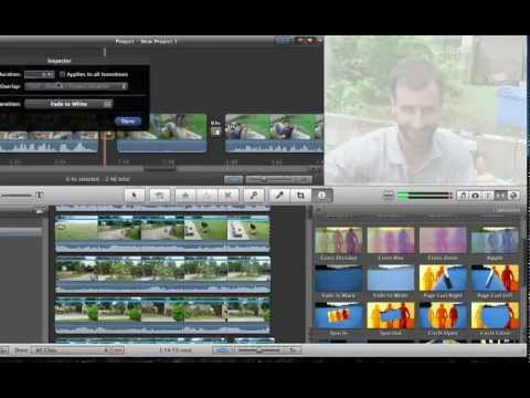 7 How to make amazing transitions in iMovie 11