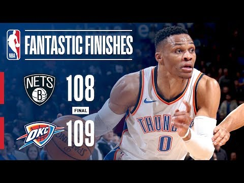 Best Plays From Crunchtime: Brooklyn Nets vs Oklahoma City Thunder