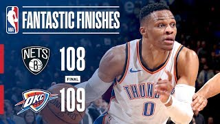 Best Plays From Crunchtime: Brooklyn Nets vs Oklahoma City Thunder