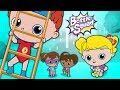 Head Shoulders Knees And Toes | Bottle Squad Rhymes | Kids Songs Cartoon | Videos For Toddlers