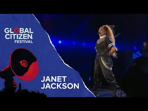 Janet Jackson Performs Rhythm Nation | Global Citizen Festival NYC 2018 Mp3