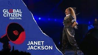 Janet Jackson Performs Rhythm Nation | Global Citizen Festival NYC 2018