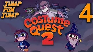 Costume Quest 2 100% Playthrough - The French Quarter - PART 4
